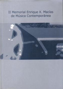 II Memorial Enrique X. Macías de Música contemporánea