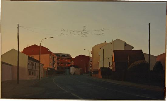 Juan Rivas. Dena. Óleo sobre lenzo. 100 x 60 cm.