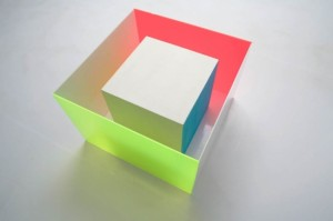 """""""Cajón"""". Pieza de suelo, formada por dos cubos."""