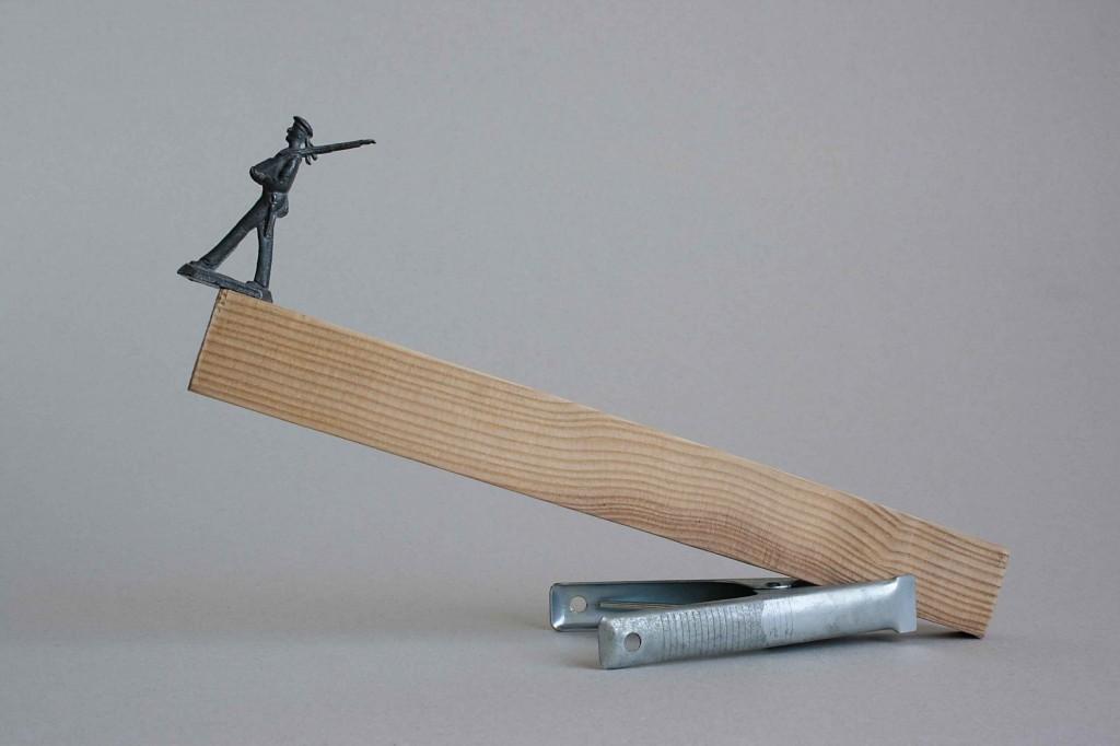 De la serie: Esculturas de un minuto de Rosendo Cid