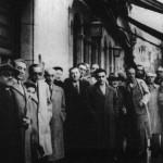 Bos Aires, 1956. Primeiro Congreso de Emigración. Laxeiro, o segundo pola dereita