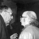 Laxeiro con Xosé Filgueira Valverde