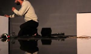 Márcio André en plena performance