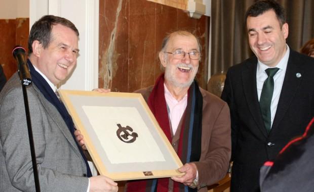 Abel Caballero, Silverio Rivas e Román Rodríguez