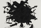 A caza, 2015, tinta chinesa/papel