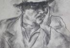 Home con chapeu baixa