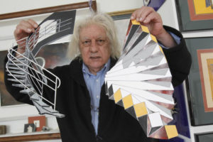 Pedro Solveira en su estudio de Vigo. Imagen: Faro de Vigo