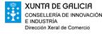 Xunta de Galicia: Consellería de Economía e Industria. Dirección Xeral de Comercio